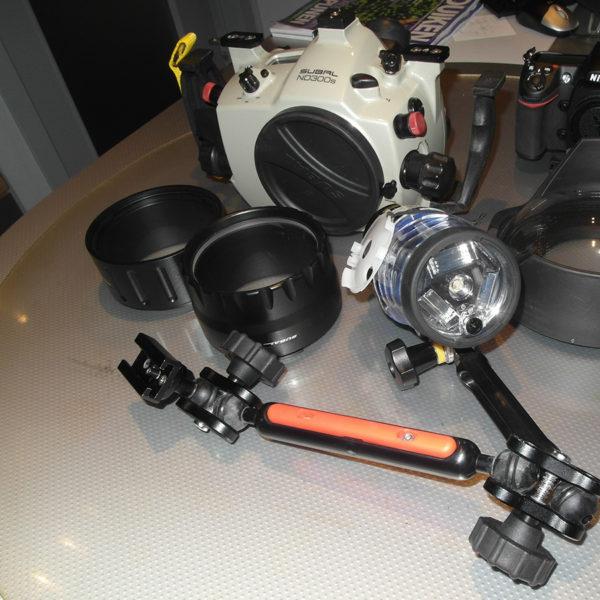 Nikon D300s met subla behuizing te koop